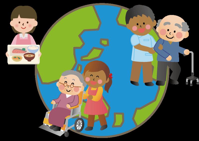 世界の介護施設とコロナ状況